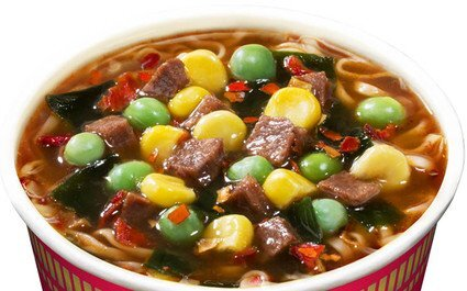 Cup Noodles Regular Cup Spicy Beef Flavour