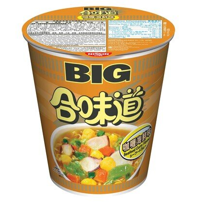 Cup Noodles Big Cup  Curry Seafood Flavour