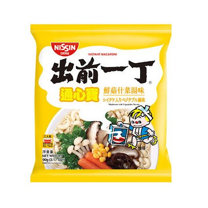 Demae Iccho Macaroni Mushroom with Vegetables Flavour