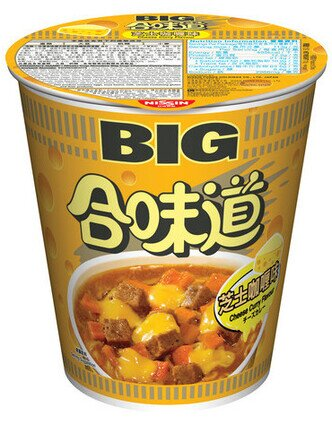 Cup Noodles Big Cup  Cheese Curry Flavour